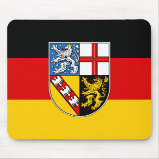 Flag of Saarland Mouse Pad