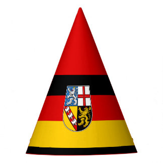 Flag of Saarland Party Hat