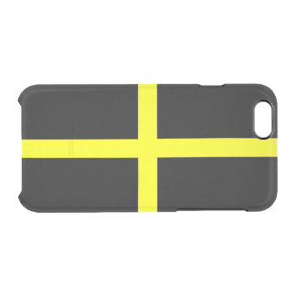 Flag of Saint David Clear iPhone Case