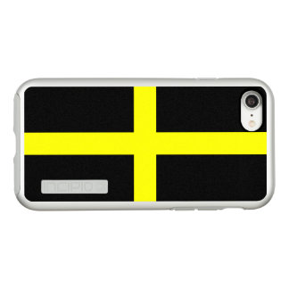 Flag of Saint David Silver iPhone Case