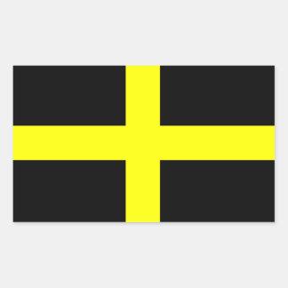 Flag of Saint David Sticker