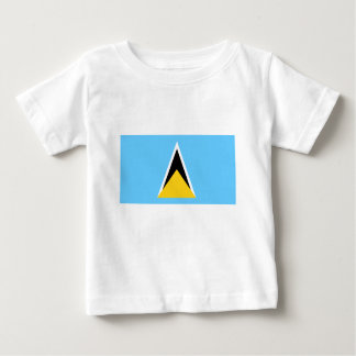 Flag of Saint Lucia Baby T-Shirt