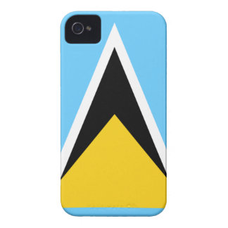 Flag of Saint Lucia iPhone 4 Case