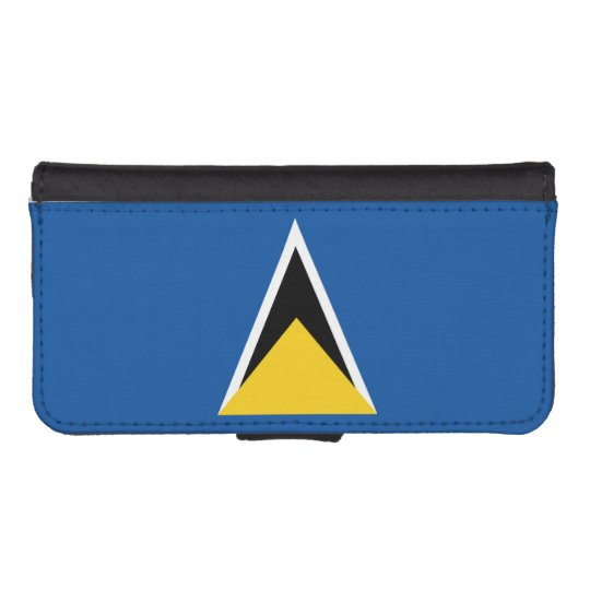 Flag of Saint Lucia iPhone 5 Wallet Case