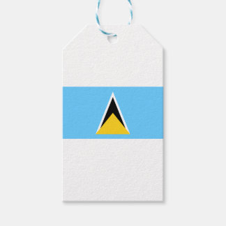 Flag of Saint Lucia Pack Of Gift Tags