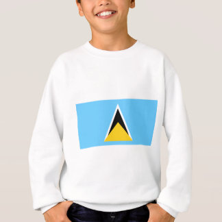 Flag of Saint Lucia Sweatshirt
