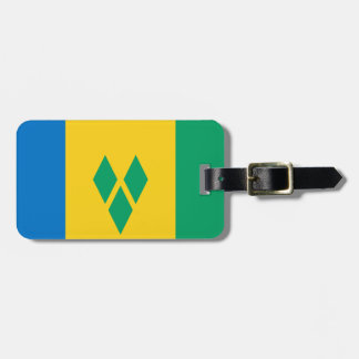 Flag of Saint Vincent Easy ID Personal Luggage Tag