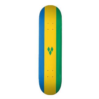 Flag of Saint Vincent Skateboard Deck