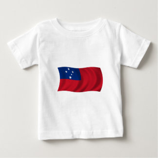 Flag of Samoa Baby T-Shirt