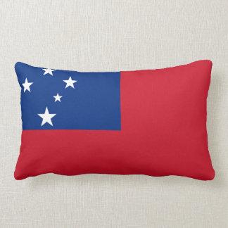 Flag of Samoa Island Lumbar Pillow