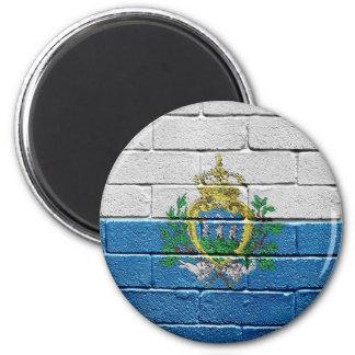 Flag of San Marino Magnet