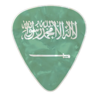 Flag of Saudi Arabia Guitar Picks
