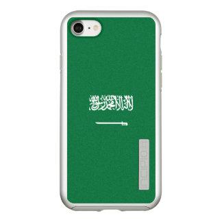 Flag of Saudi Arabia Silver iPhone Case
