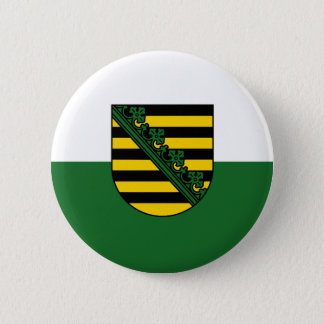 Flag of Saxony 2 Inch Round Button