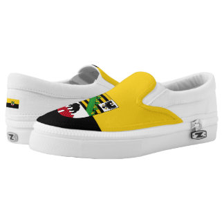Flag of Saxony-Anhalt Slip-On Sneakers