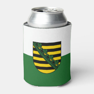Flag of Saxony Can Cooler