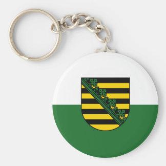 Flag of Saxony Keychain