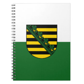 Flag of Saxony Notebooks