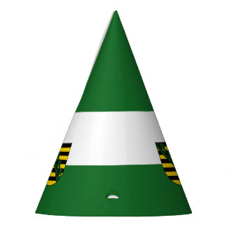 Flag of Saxony Party Hat