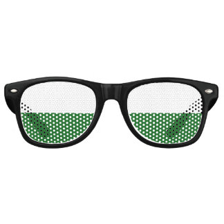 Flag of Saxony Retro Sunglasses