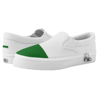 Flag of Saxony Slip-On Sneakers