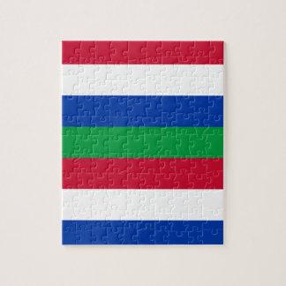 Flag of Schiermonnikoog Jigsaw Puzzle
