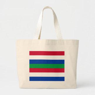 Flag of Schiermonnikoog Large Tote Bag