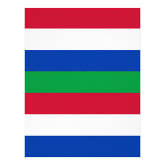 Flag of Schiermonnikoog Letterhead