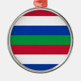 Flag of Schiermonnikoog Metal Ornament