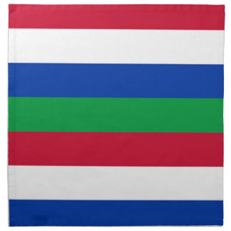 Flag of Schiermonnikoog Napkin