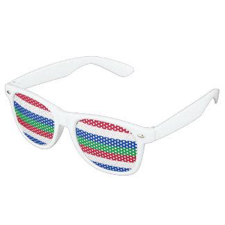 Flag of Schiermonnikoog Party Sunglasses