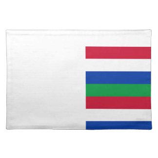 Flag of Schiermonnikoog Placemat