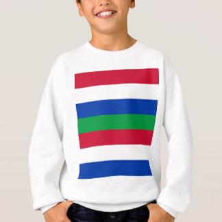 Flag of Schiermonnikoog Sweatshirt
