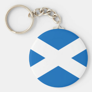 Flag of Scotland Keychain