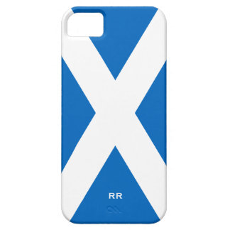 Flag of Scotland Saltire White On Blue St Andrews iPhone 5 Case