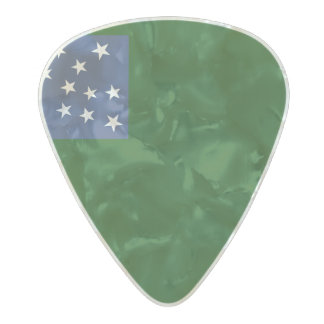 Flag of Second Vermont Guitar Picks