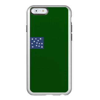 Flag of Second Vermont Silver iPhone Case Incipio Feather® Shine iPhone 6 Case