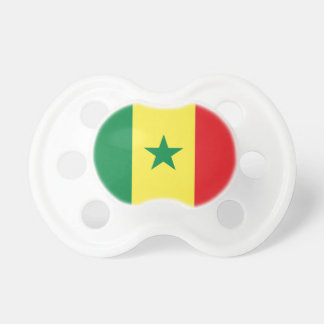 Flag of Senegal 0-6 months BooginHead® Pacifier