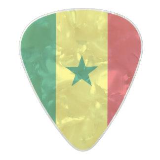 Flag of Senegal Guitar Picks Pearl Celluloid Guitar Pick