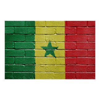Flag of Senegal Poster
