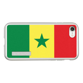 Flag of Senegal Silver iPhone Case