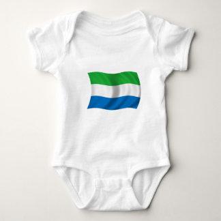 Flag of Sierra Leone Baby Bodysuit
