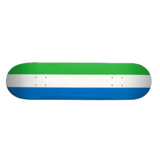 Flag of Sierra Leone Skateboard Deck