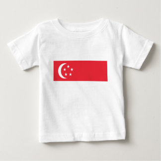 Flag of Singapore -  新加坡国旗 - Bendera Singapura Baby T-Shirt