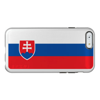 Flag of Slovakia Silver iPhone Case Incipio Feather® Shine iPhone 6 Case