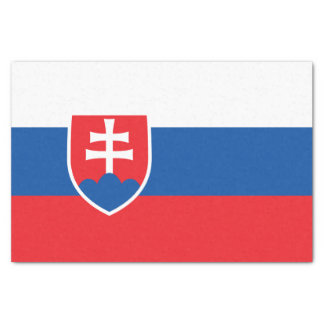 Flag of Slovakia Tissue Paper