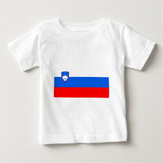 Flag of Slovenia Baby T-Shirt