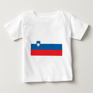 Flag_of_Slovenia Baby T-Shirt