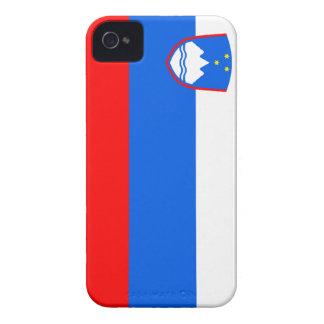 Flag of Slovenia Case-Mate iPhone 4 Cases