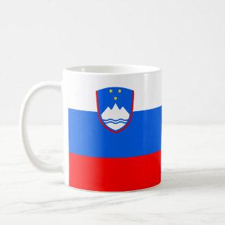 Flag of Slovenia Classic White Coffee Mug